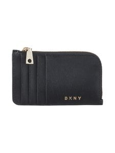 Dkny - Bryant Zip Card Hold -korttikotelo - BGD - BLK/GOLD | Stockmann