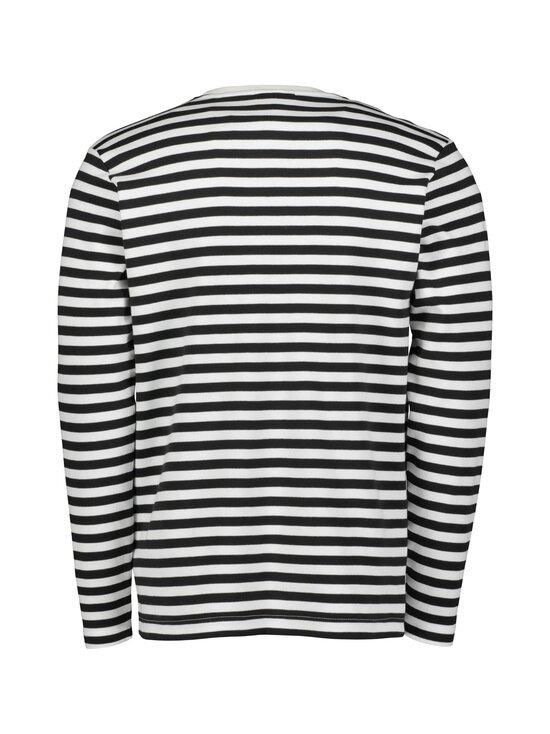 Makia - Verkstad Long Sleeve -paita - 998 BLACK-WHITE   Stockmann - photo 2