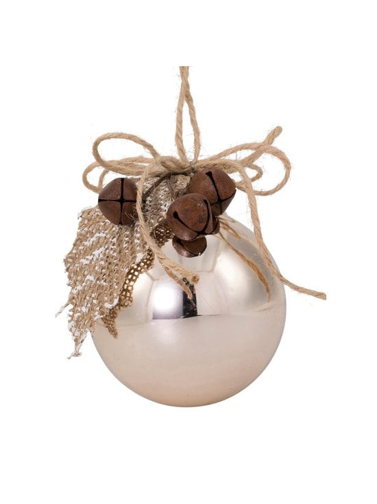 Weiste - Bauble with Leaves and Bells -joulukoriste 85 mm - NOCOL | Stockmann - photo 1