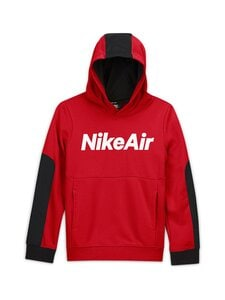 Nike - Air Hoodie -huppari - UNIVERSITY RED/BLACK/BLACK/WHITE | Stockmann