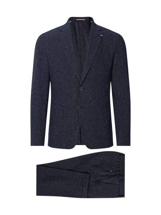 Tommy Hilfiger Tailored - Packable TH Flex Slim Fit -puku - 0Z2 BLUE ALLOVER 39   Stockmann - photo 1