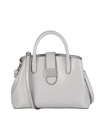 Lyla Centre Zip tote leather bag