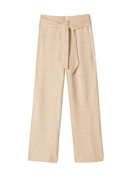 Nanushka - Nea Pants -neulehousut - CREME | Stockmann - photo 1