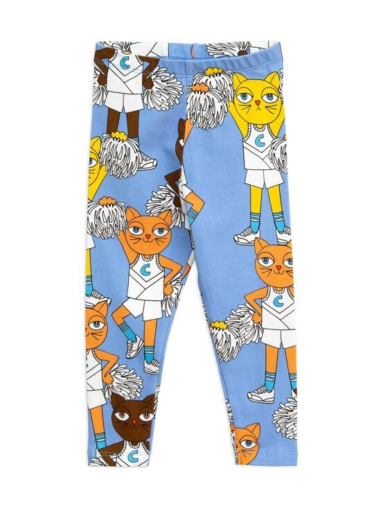 Mini Rodini - Cheercat-leggingsit - BLUE   Stockmann - photo 1