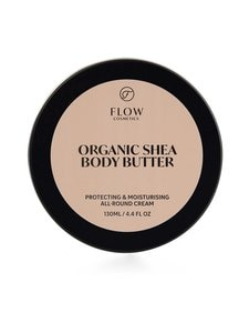Flow Cosmetics - Organic Shea Body Butter 100 % -sheavoi 130 ml | Stockmann
