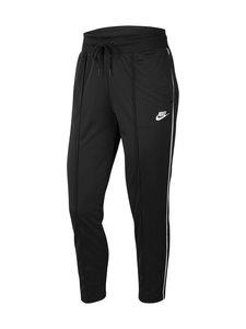 Nike - W Sportswear Heritage Pant -housut - 010 BLACK/WHITE/WHITE | Stockmann