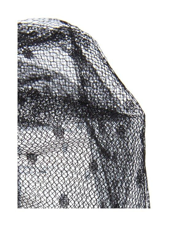 RED Valentino - Sweatshirt Point D'esprit Tulle -paita - 0NO BLACK | Stockmann - photo 3