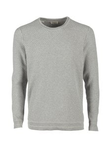 Selected - SlhOliver-puuvillaneule - LIGHT GREY MELANGE | Stockmann
