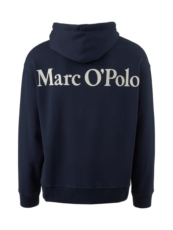 Marc O'Polo - Logo On Back -huppari - 896 DARK BLUE | Stockmann - photo 2