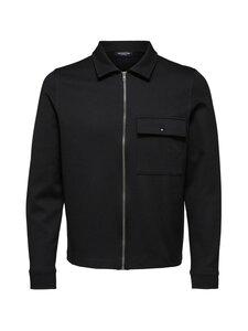 Selected - SlhRegJamie Sweat Jacket -takki - BLACK | Stockmann