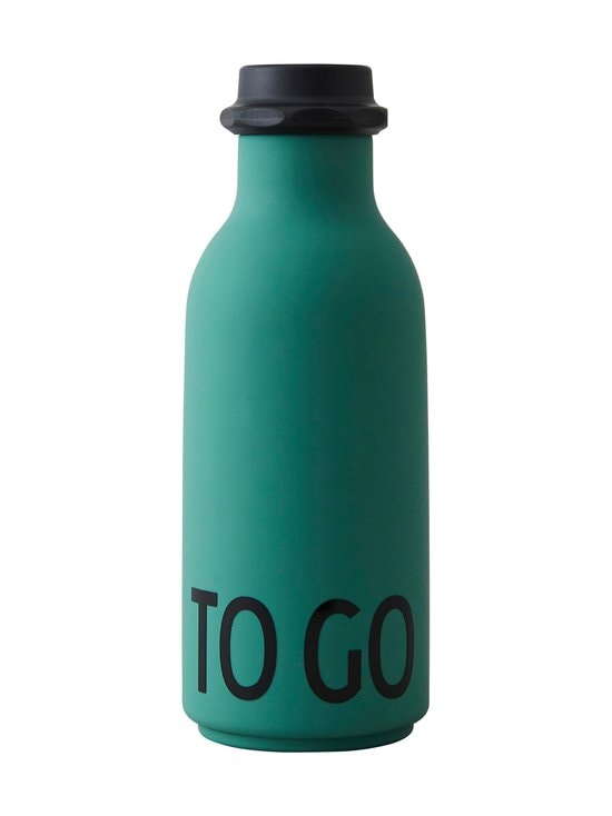 Design Letters - To Go -juomapullo 500 ml - DARK GREEN | Stockmann - photo 1