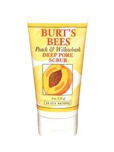 Burts Bees - Peach & Willowbark Deep Pore Scrub -kuorinta 110 g | Stockmann