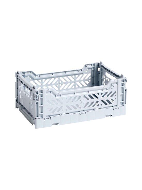 HAY - Colour Crate S -laatikko 26,5 x 17 x 10,5 cm - ICE BLUE   Stockmann - photo 1