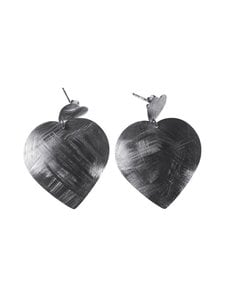 Dfj Collections - Big Heart -korvakorut - SILVER | Stockmann