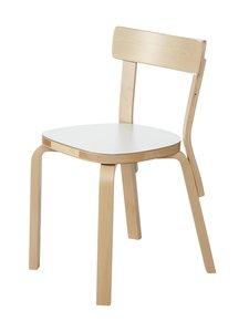 Artek - 69-tuoli, koottu - KOIVU/VALKOINEN | Stockmann