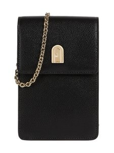 Furla - 1927 Mini Vertical Crossbody -nahkalaukku - O6000 NERO | Stockmann