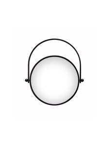 Hakola - Lampi-peili 41 x 35 x 3 cm - MUSTA | Stockmann
