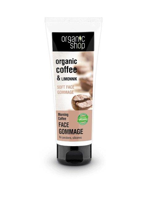 Morning Coffee Soft Face Gommage Scrub -kuorinta 75 ml