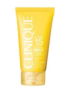 Clinique - Sun Broad Spectrum SPF 15 Sunscreen Face/Body Cream -aurinkosuojavoide 150 ml | Stockmann