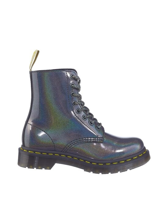 Dr. Martens - Vegan 1460 Pascal Iridescent Ankle Boots -kengät - GUNMETAL PRYSM   Stockmann - photo 1