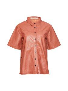 RUE de FEMME - Odessa leather -pusero - 329 MOROCCAN RED | Stockmann