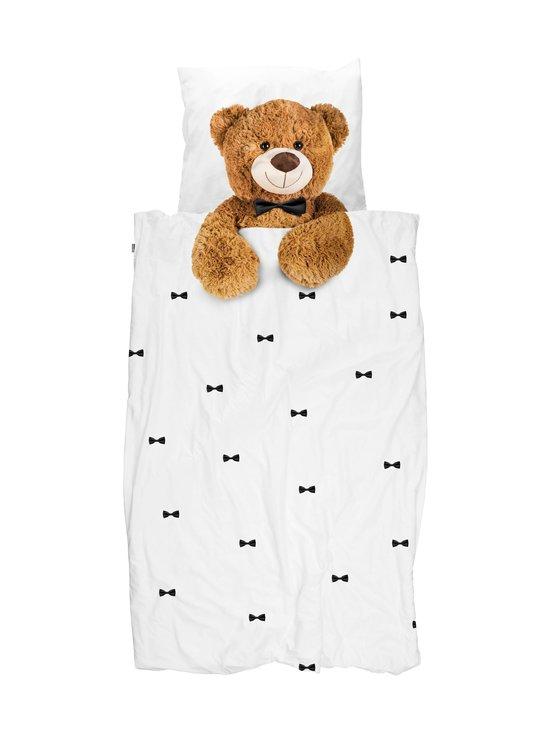 Snurk - Teddy-pussilakanasetti 150 x 210 + 50 x 60 cm - WHITE | Stockmann - photo 1