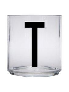 Design Letters - Kids Personal Drinking Glass -juomalasi, T - KIRKAS | Stockmann
