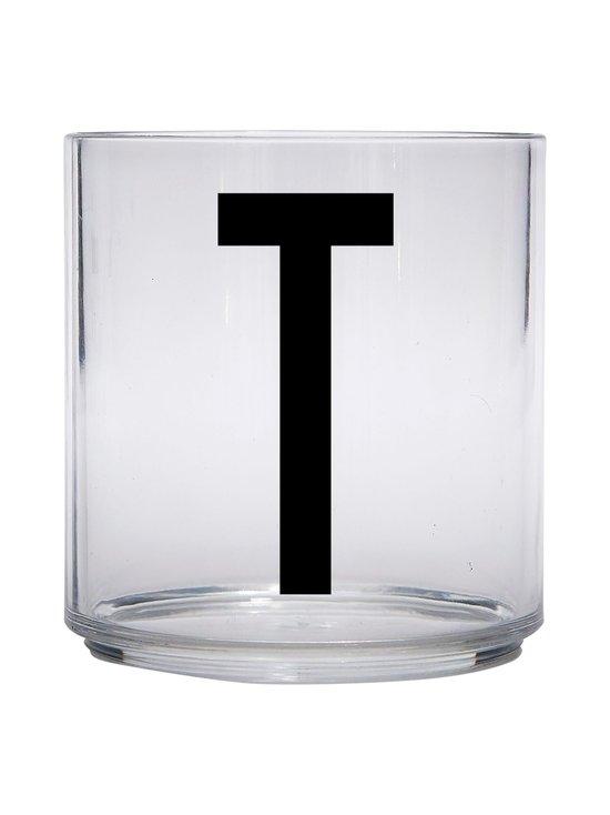 Design Letters - Kids Personal Drinking Glass -juomalasi, T - KIRKAS | Stockmann - photo 1