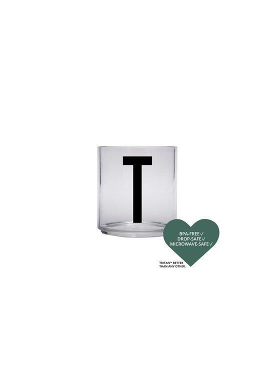 Design Letters - Kids Personal Drinking Glass -juomalasi, T - KIRKAS | Stockmann - photo 2