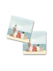 Moomin - #MEIDÄNMERI-lasinalunen 4 kpl - MULTICO | Stockmann