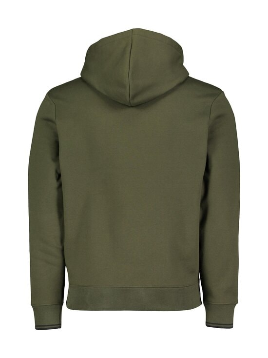 Fred Perry - Graphic Hooded -huppari - 408 HUNTING GREEN | Stockmann - photo 2