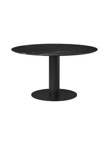 Gubi - 2.0-pöytä Ø 130 cm - BLACK MARQUINA MARBLE | Stockmann