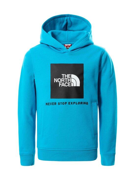 The North Face - Y BOX P/O HOODIE -collegehuppari - D7R1 MERIDIAN BLUE   Stockmann - photo 1