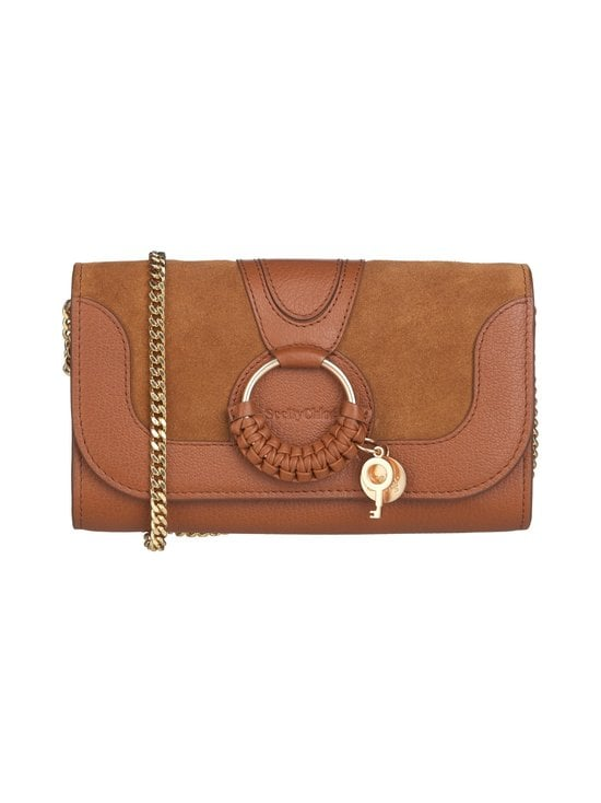 See By Chloe - Hana Chain Wallet -nahkalaukku - CARAMELLO 242 | Stockmann - photo 1