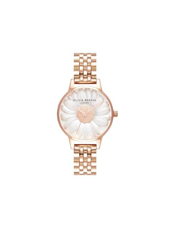 OLIVIA BURTON - 3D Daisy Rose Gold Bracelet -rannekello - ROSEGOLD | Stockmann - photo 1