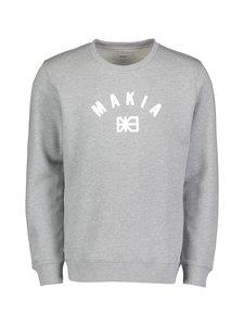 Makia - Brand Sweatshirt -collegepaita - GREY | Stockmann