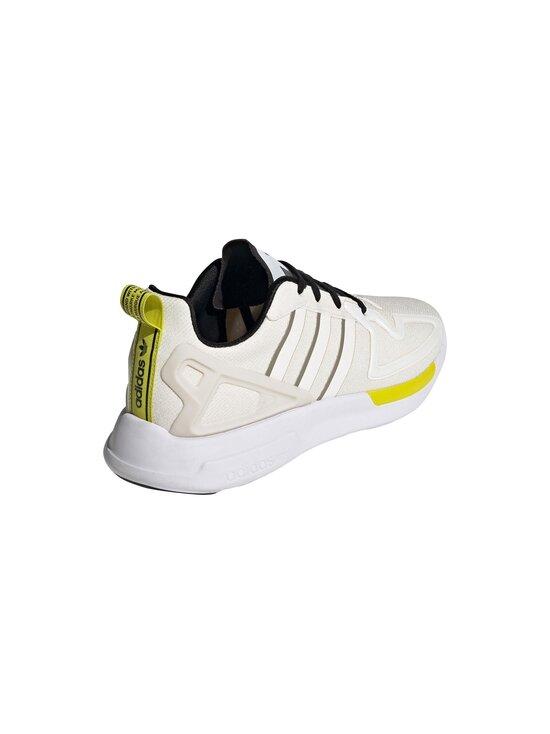 adidas Originals - W ZX 2K Flux -sneakerit - CHALK WHITE/CORE BLACK/FEATHER GREY | Stockmann - photo 4