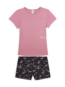 Sanetta - Teens Girl Short Mystic Moment -shortsipyjama - 38106 DARK ROSE   Stockmann