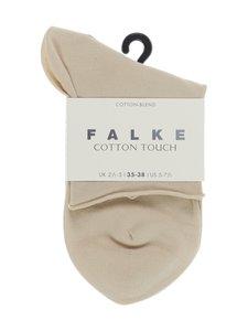 Falke - Cotton Touch -nilkkasukat - CREAM (KERMANVÄRINEN)   Stockmann