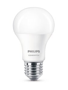 Philips - LED SceneSwitch 8W E27 -lamppu - WHITE | Stockmann