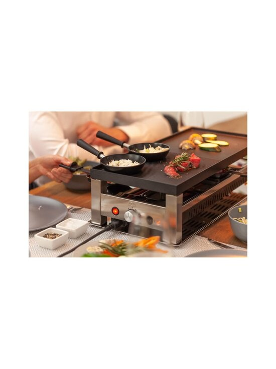 Solis - 5 in 1 Table Grill -raclettegrilli - STAINLESS STEEL | Stockmann - photo 10