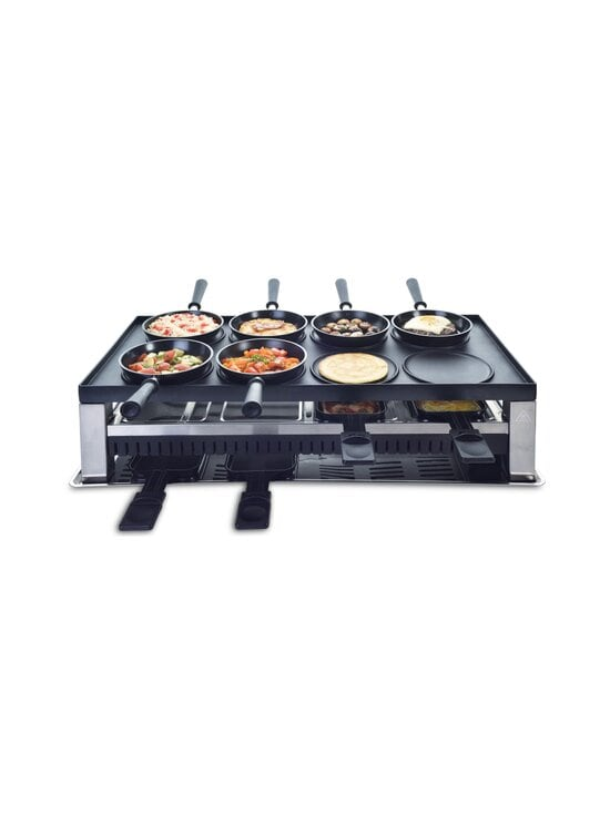 Solis - 5 in 1 Table Grill -raclettegrilli - STAINLESS STEEL | Stockmann - photo 8