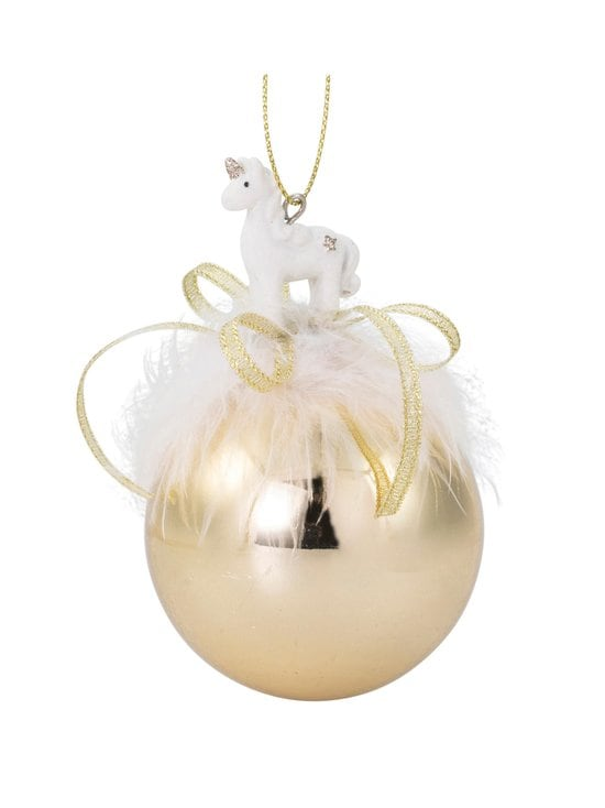 Weiste - Unicorn Baubles -joulukoriste 65 mm - GOLD | Stockmann - photo 1
