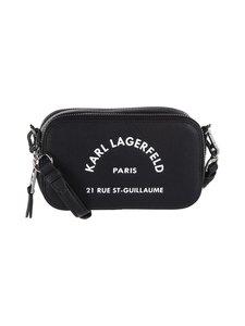 Karl Lagerfeld - Rue St Guillaume Crossbody -nahkalaukku - 999 BLACK   Stockmann