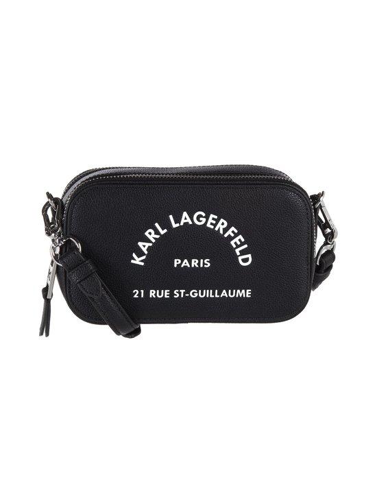 Karl Lagerfeld - Rue St Guillaume Crossbody -nahkalaukku - 999 BLACK | Stockmann - photo 1
