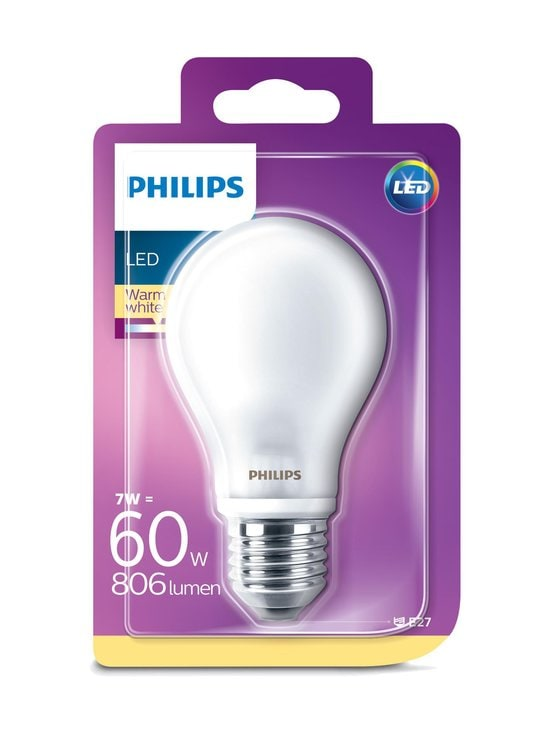 Philips - LED Classic 6,7W A60 E27 -lamppu - WHITE | Stockmann - photo 1