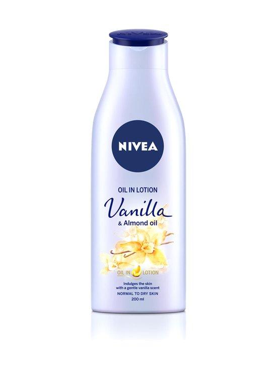 NIVEA - Oil in Lotion Vanilla & Almond Oil -vartaloemulsio 200 ml - null | Stockmann - photo 1