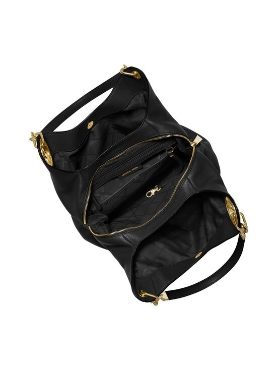 Michael Michael Kors - Lillie Large Pebbled Leather Shoulder Bag -nahkalaukku - 001 BLACK   Stockmann - photo 2