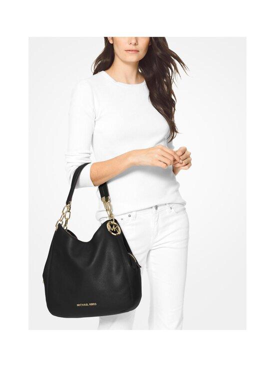 Michael Michael Kors - Lillie Large Pebbled Leather Shoulder Bag -nahkalaukku - 001 BLACK   Stockmann - photo 3