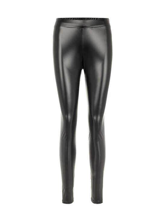 Noisy may - NmJinna High Waist Slim -leggingsit - BLACK | Stockmann - photo 1